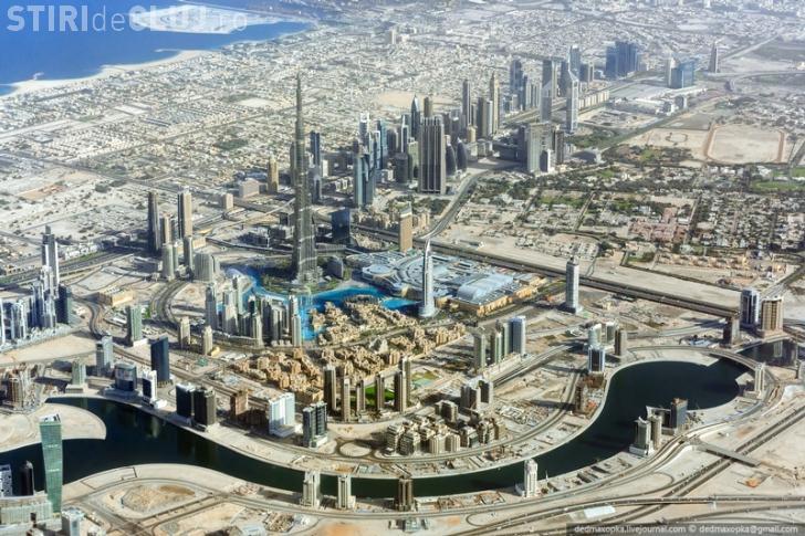 Imagini INCREDIBILE din Dubai. Noi avem 52 de km de autostradă, iar arabii un paienjeniș - FOTO