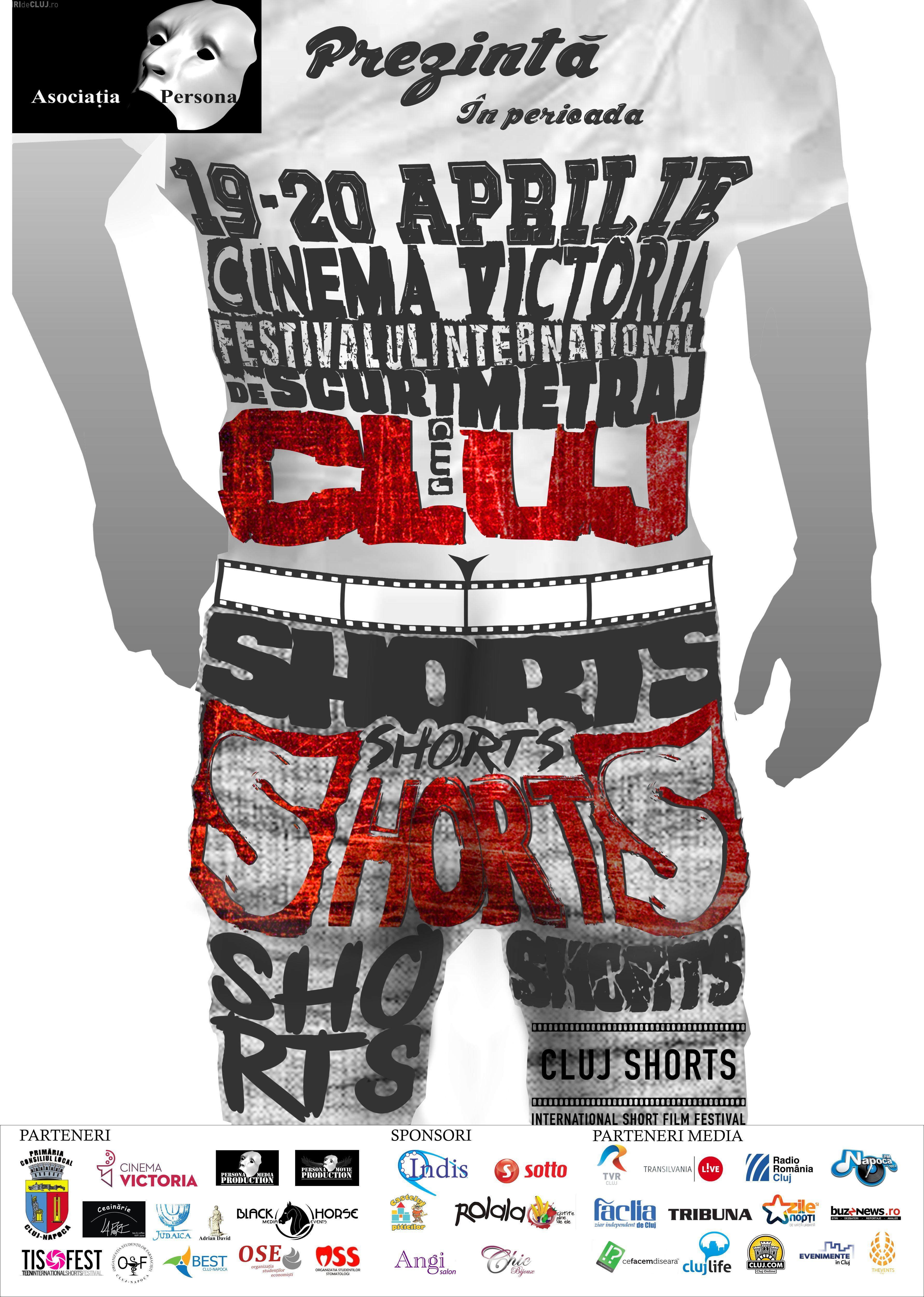 CLUJ SHORTS - Festival internațional de scurtmetraj, în aprilie la Cinema Victoria