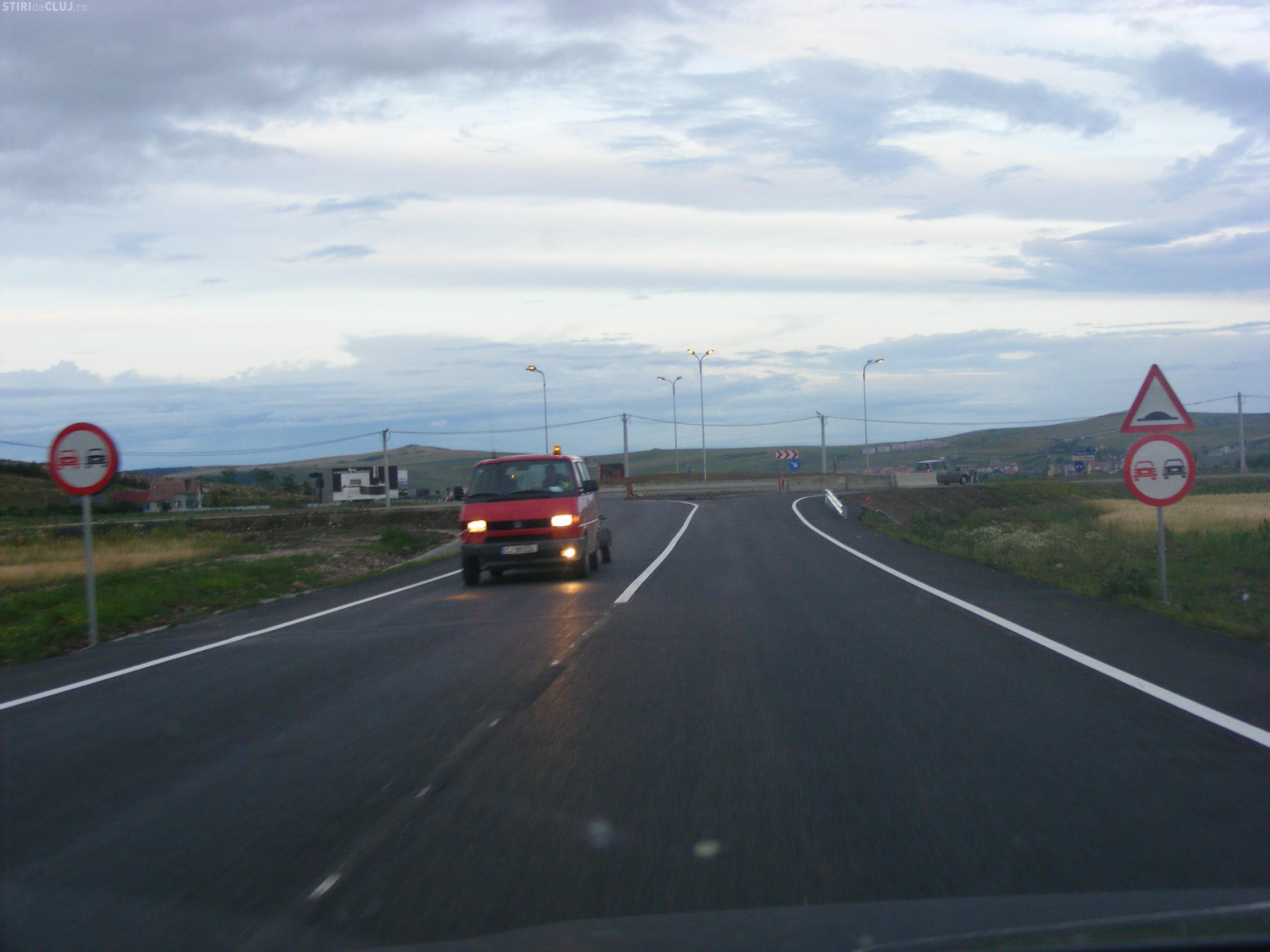 Centura Vâlcele - Apahida va fi legată de Autostrada Transilvania. Drumul va avea 5,3 kilometri - VIDEO