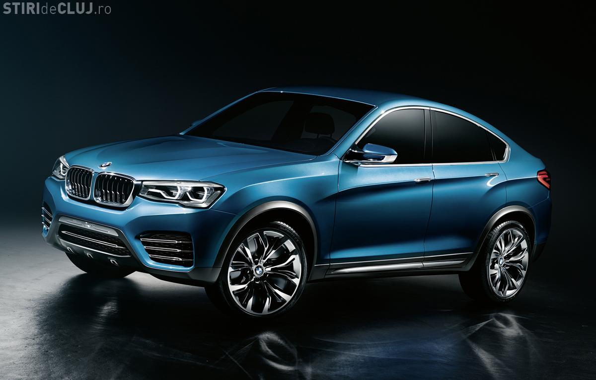 Apare BMW X4! Cum arată noul concept al constructorului bavarez - FOTO