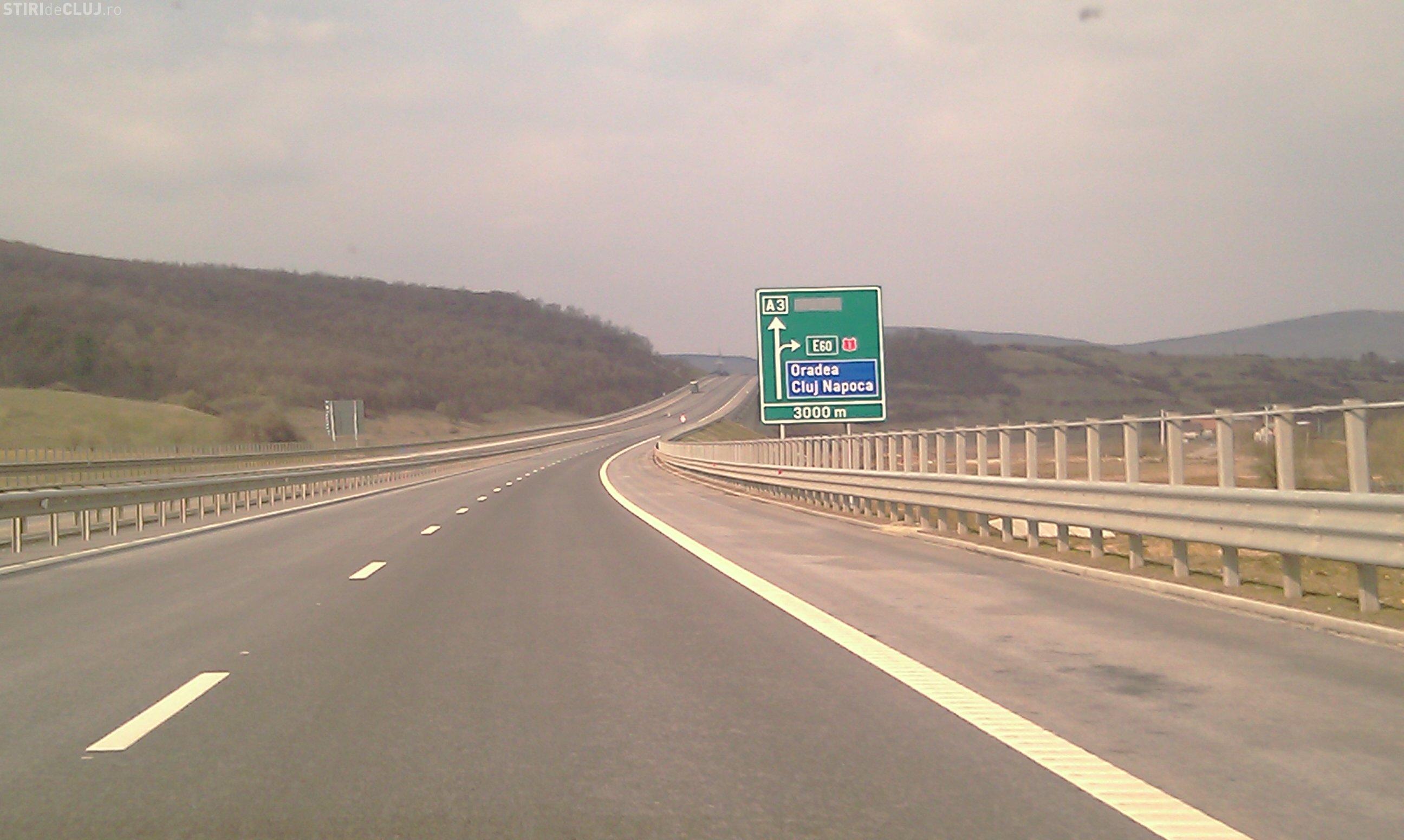 Scena de coșmar pe Autostrada Transilvania: Un BMW a mers cu așa viteză că mi-a mișcat mașina din loc