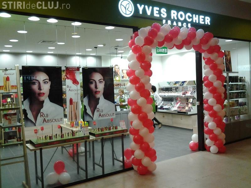 YVES ROCHER a deschis un magazin în Iulius Mall Cluj cu PROMOȚII
