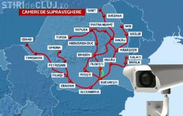 Harta camerelor video din România care vor monitoriza plata rovignetei
