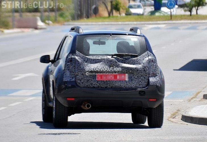 Cum arată noul model Dacia Duster. Imagini SPION - FOTO