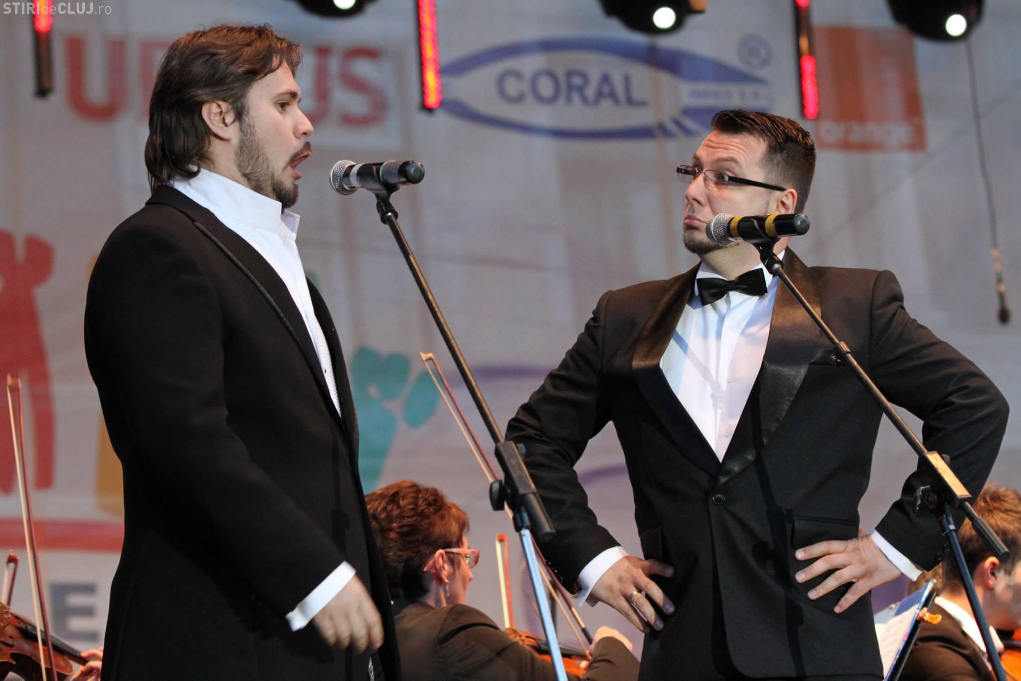 ZILELE CLUJULUI 2013: Operetă și spectacol al Filarmonicii Transilvania, în Piața Unirii, duminică seara - FOTO