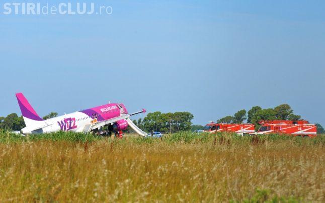 Avion Wizz Air a aterizat de urgență la Roma - FOTO