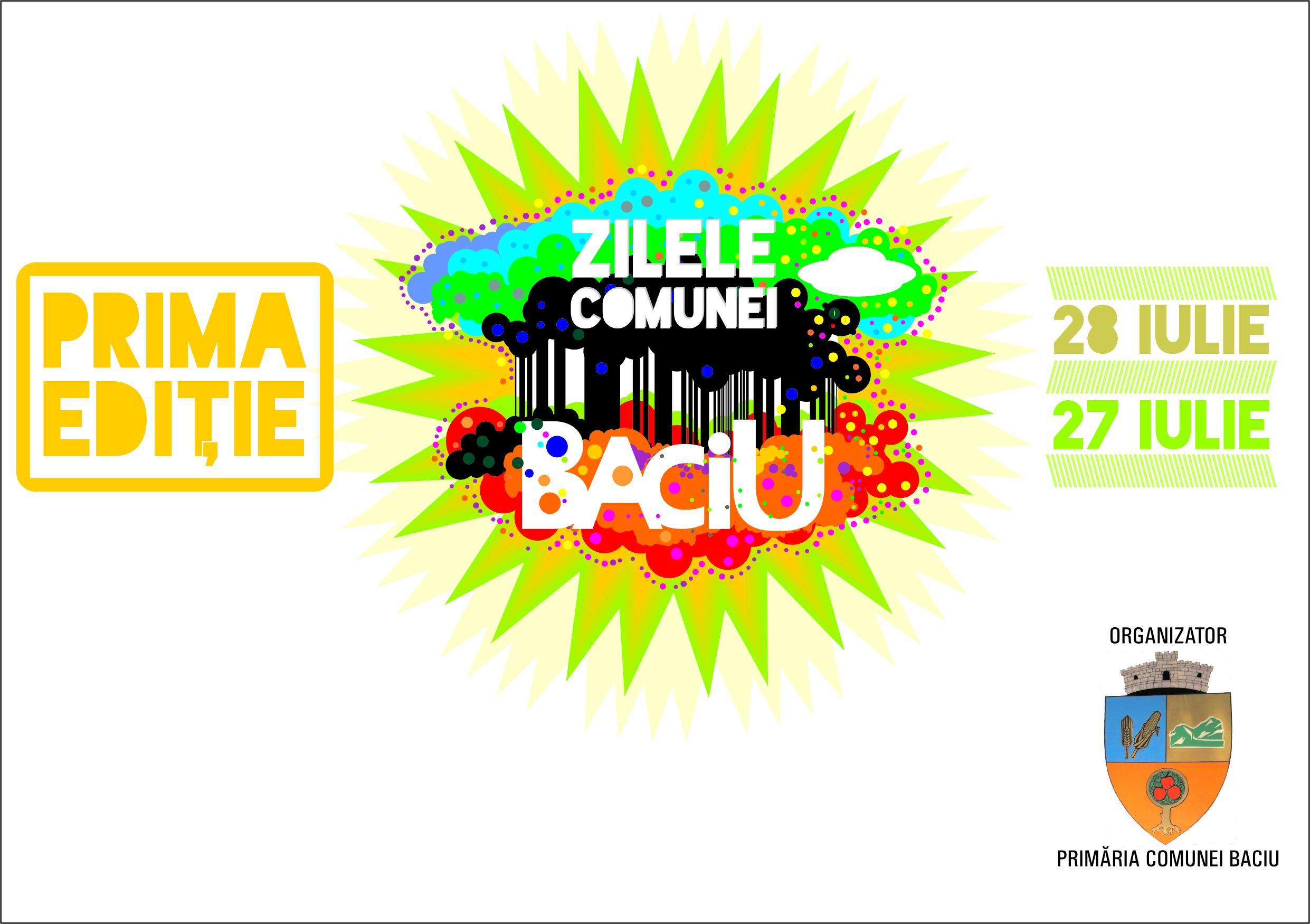 În weekend are loc prima ediție a Zilelor Comunei Baciu. Vezi programul