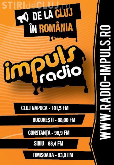 Radio Impuls pe locul I in topul preferintelor clujenilor
