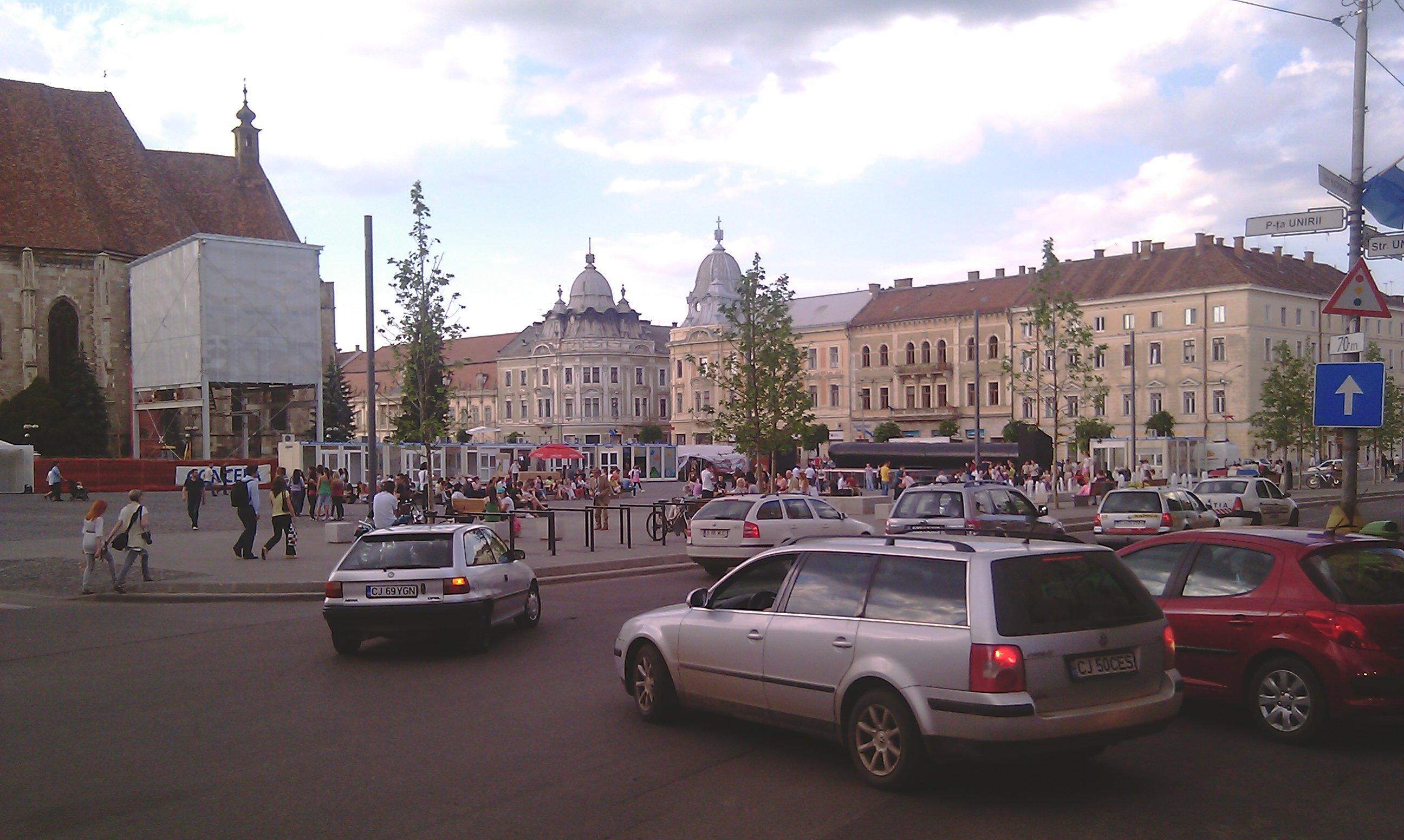 Se închid străzi din centrul Clujului, în perioada 15 august - 18 august