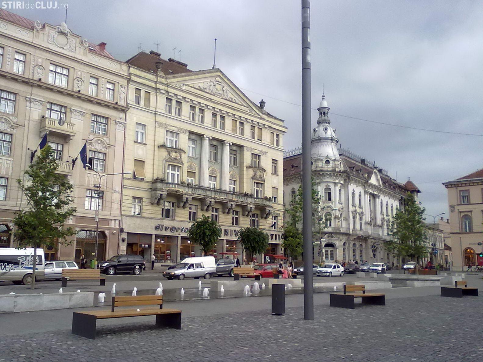 Restricții de circulație în centrul Clujului pentru 3 zile