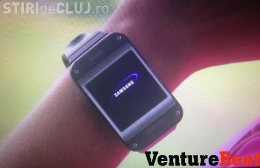Primele imagini cu ceasul smart de la Samsung - FOTO