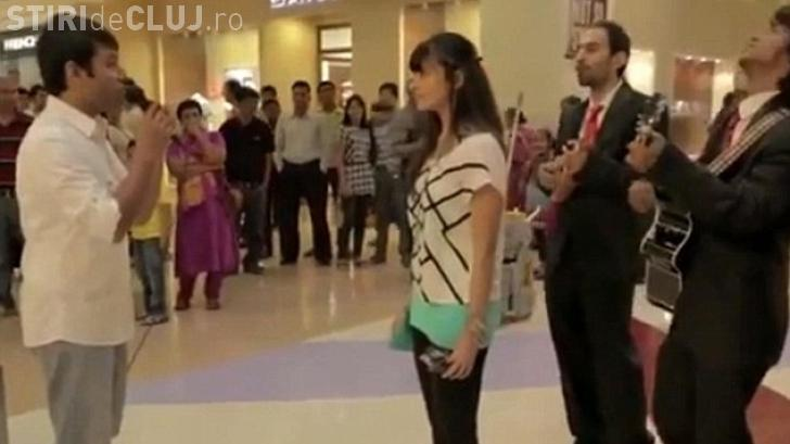Și-a cerut iubita în căsătorie, dar femeia l-a făcut knockout - VIDEO