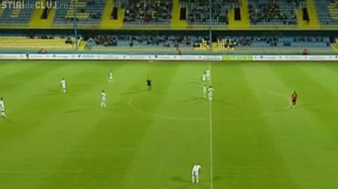 Gaz Metan - U Cluj 2-1 - REZUMAT VIDEO - Gaston Mendy a greșit la ambele goluri