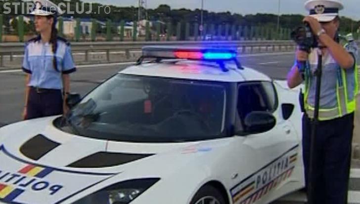 Bucureștean prins cu 240 de kilometri pe oră pe Autostrada Transilvania
