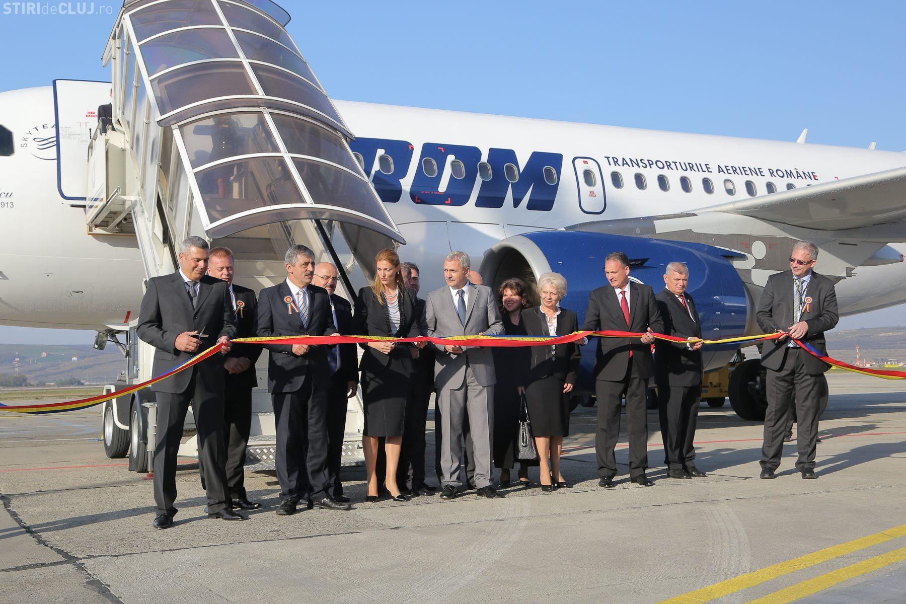 Aeroportul Cluj ȚINTEȘTE spre cifra de 1,5 milioane pasageri pe an. Ce rol ar avea AUTOSTRADA TRANSILVANIA?