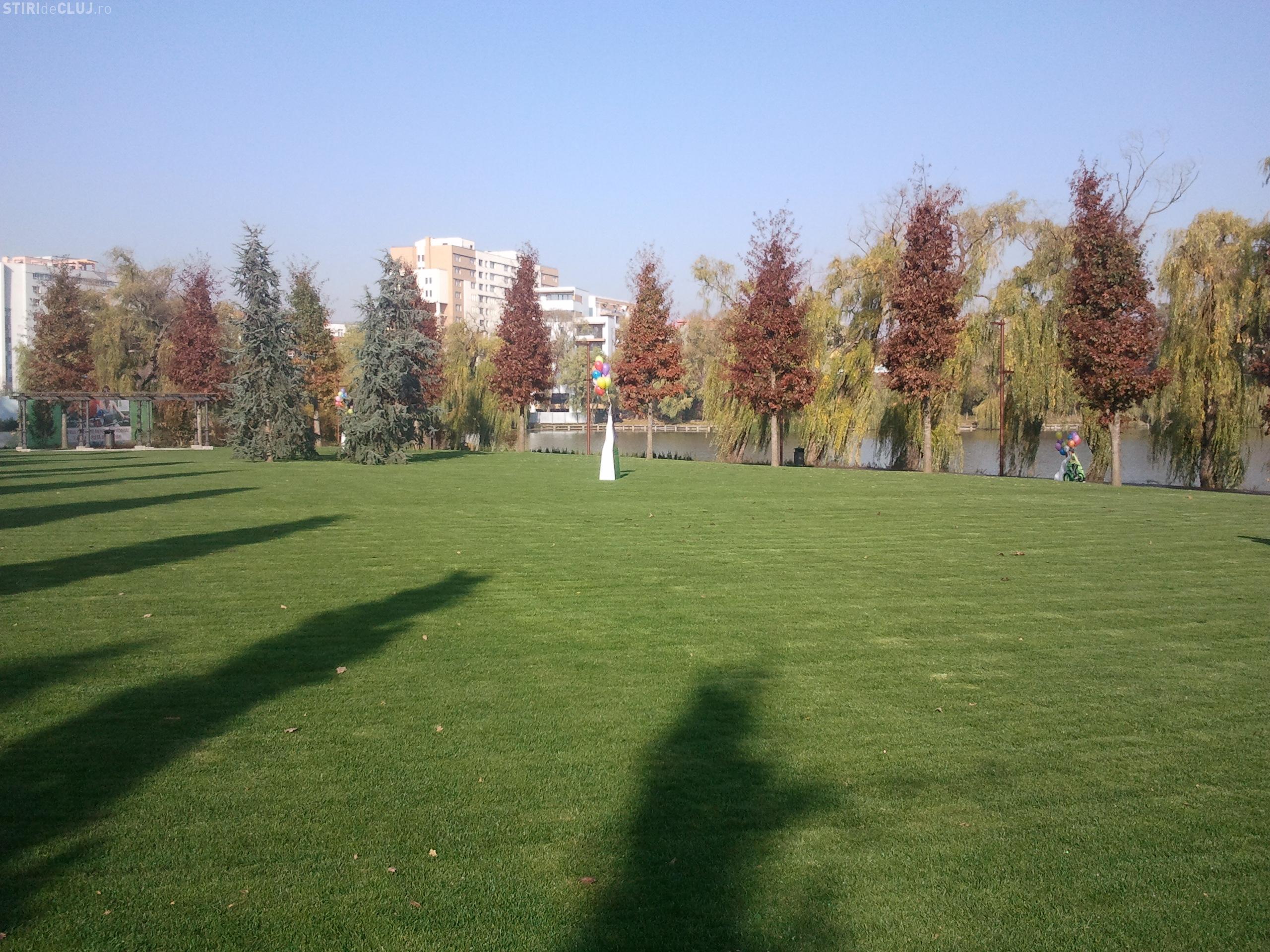 Parcul de lângă lacul Gheorgheni din Cluj a fost inaugurat. Vezi în PREMIERĂ cum arată Iulius Parc - Galerie Foto