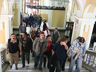 Studenții din Cluj-Napoca SUNT în grevă japoneză