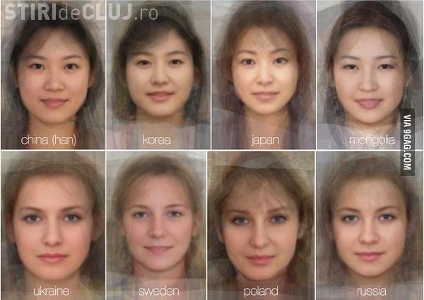 Cum arată portretul ROBOT al româncei - FOTO