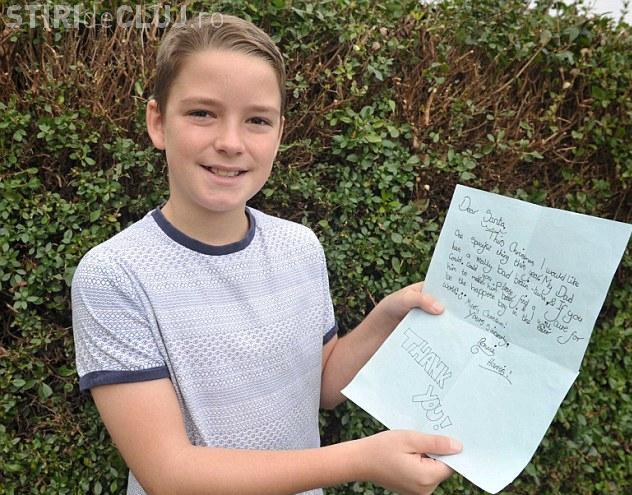 Scrisoarea DUREROASĂ trimisă lui Moș Crăciun de un băiat de 10 ani