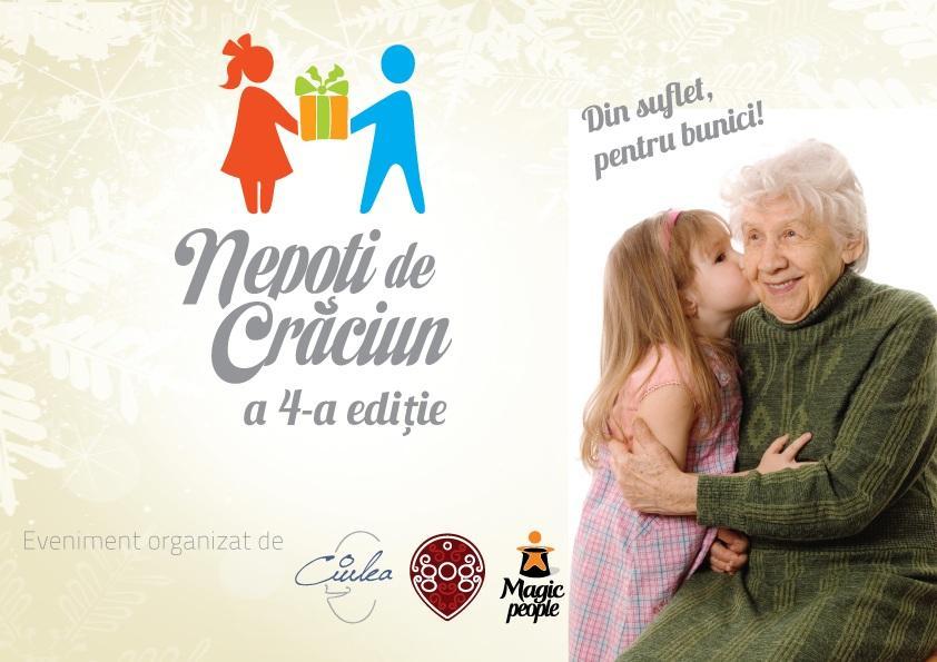 """Proiectul umanitar """"Nepoți de Crăciun"""", organizat de Cristian Gog la Cluj-Napoca și în acest an"""
