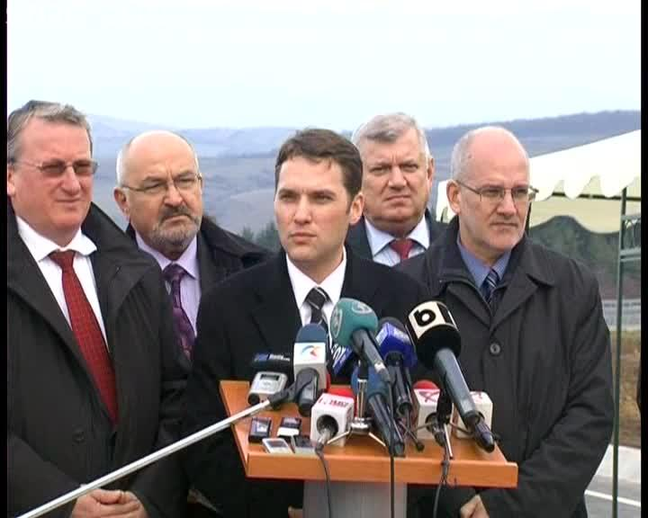 Ministrul Dan Șova: Noi nu inaugurăm centura, ci dăm drumul la trafic - VIDEO