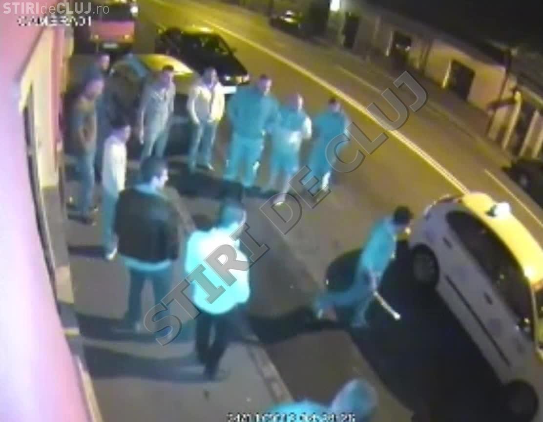 Poliția Cluj a reacționat după trei zile de la scandalul cu SĂBII de pe strada București