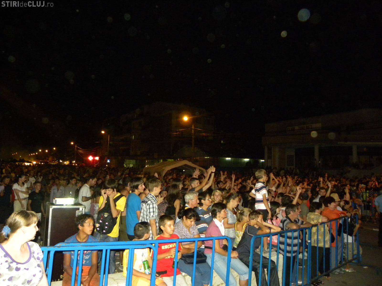 """Vita de Vie"" si ""Night Shift"" au deschis Zilele orasului Turda. Haddaway urca azi pe scena de la ora 21.00!"