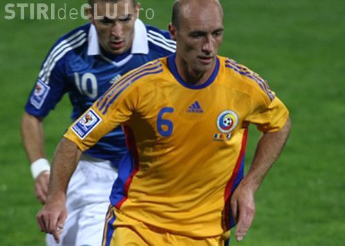 Gabi Muresan, singurul jucator de la CFR Cluj convocat la nationala
