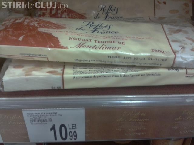 Produse expirate de peste DOUĂ LUNI puse la vânzare în Careffour Cluj