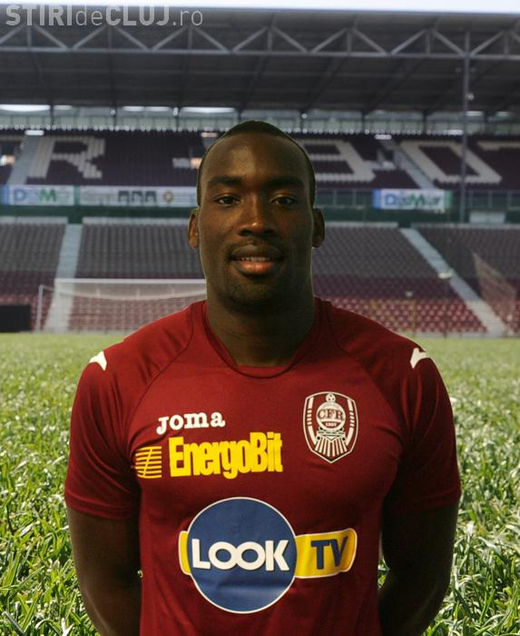 Gregory Tade face PRAF CFR Cluj după ce a fost eliminat din echipă