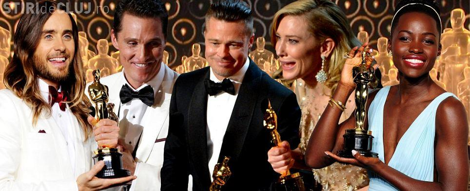 """OSCAR 2014: """"12 Years a Slave"""" a câștigat marele trofeu. VEZI LISTA CÂȘTIGĂTORILOR"""
