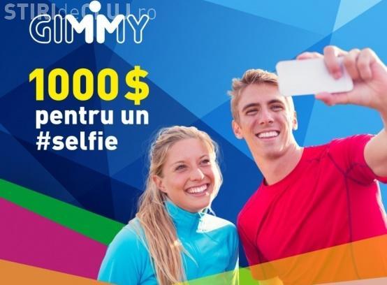 """Clubul GIMMY iti da 1.000 de dolari pentru un """"selfie"""". Vezi cât de simplu câștigi banii"""