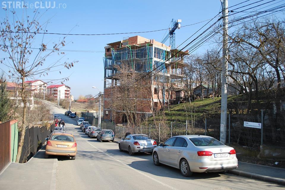 Prefectura Cluj cere sistarea lucrărilor la BLOCURILE TURN de pe Măceșului. VEZI care sunt motivele