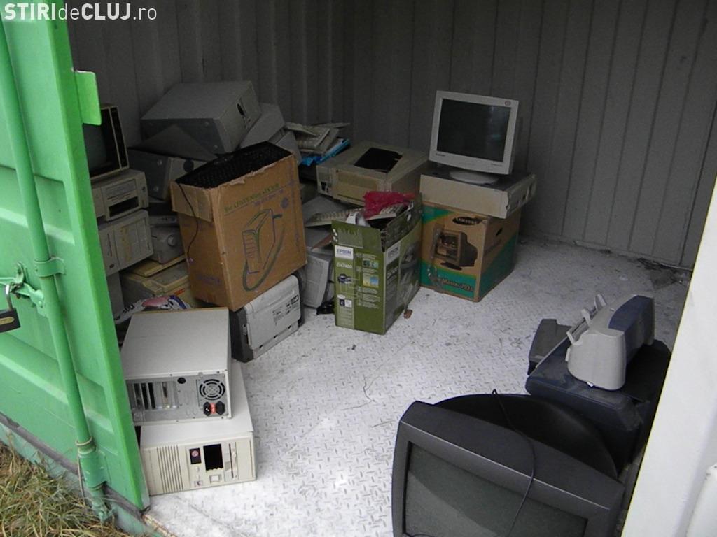 Cluj: Colectare a deşeurilor de echipamente electrice şi electronice