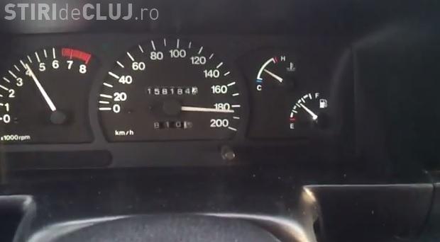 """Gonește cu """"sicriul"""" cu 190 km/h pe Autostrada Transilvania - VIDEO"""