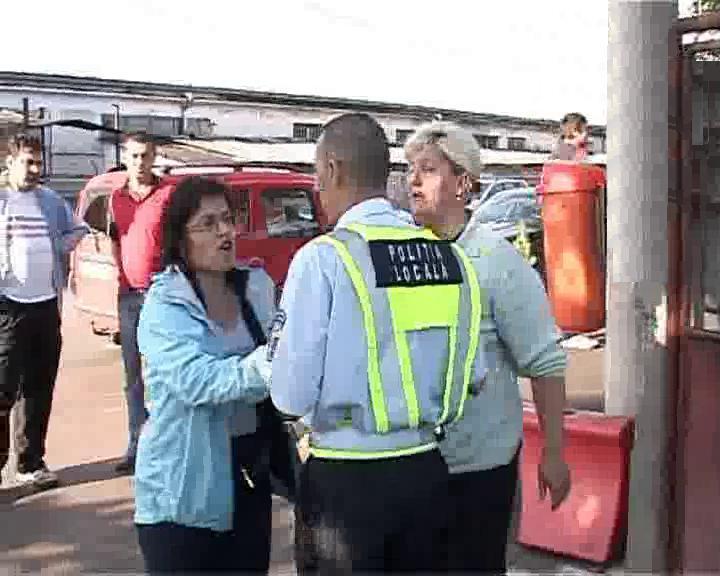 Razie în Piața OSER din Cluj-Napoca