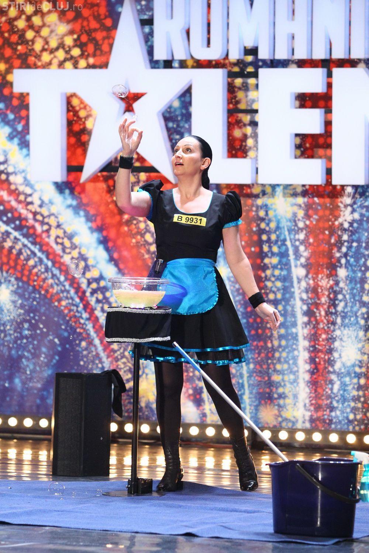 Moment INCREDIBIL la Românii au Talent. Magia cu bule de săpun care a vrăjit publicul VIDEO