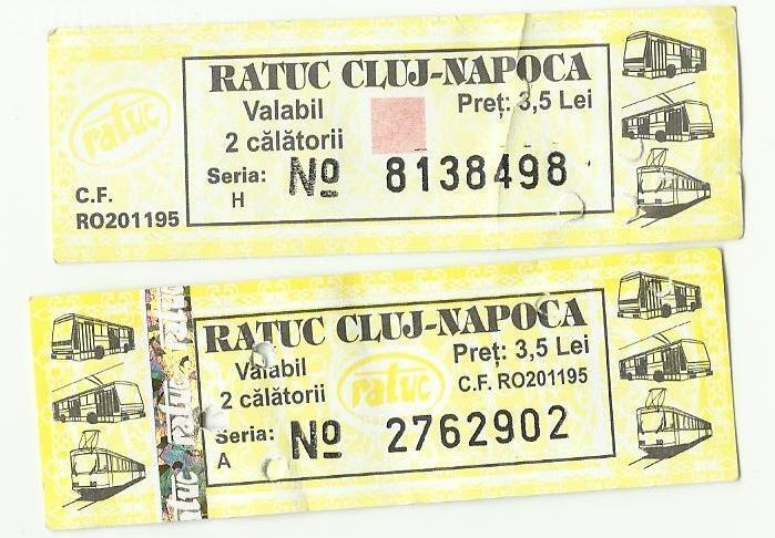 Bilete RATUC cumpărate prin SMS! De când devin clujenii mai COOL