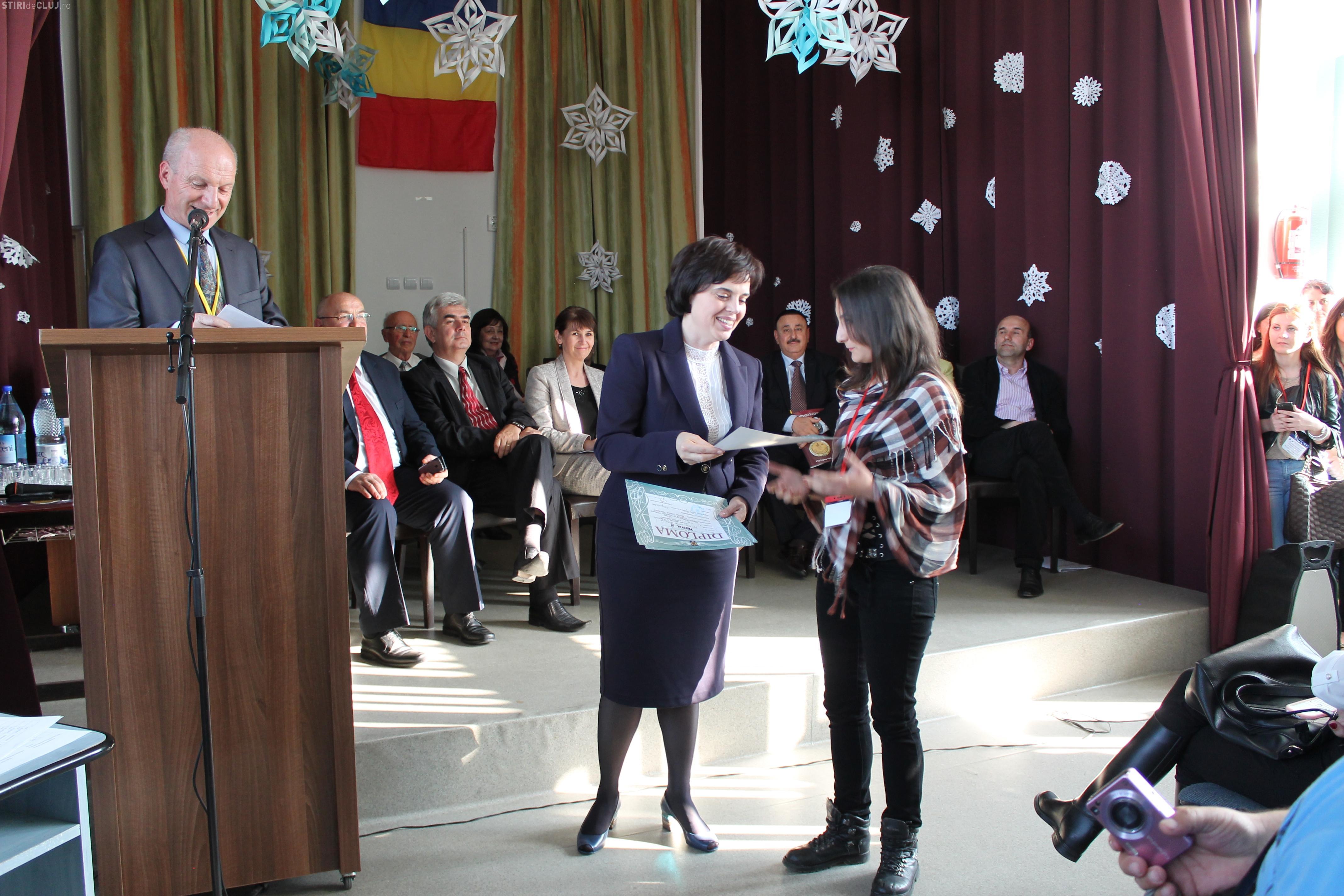 Elevi clujeni, premiați la Olimpiada Naţională de Pedagogie-Psihologie