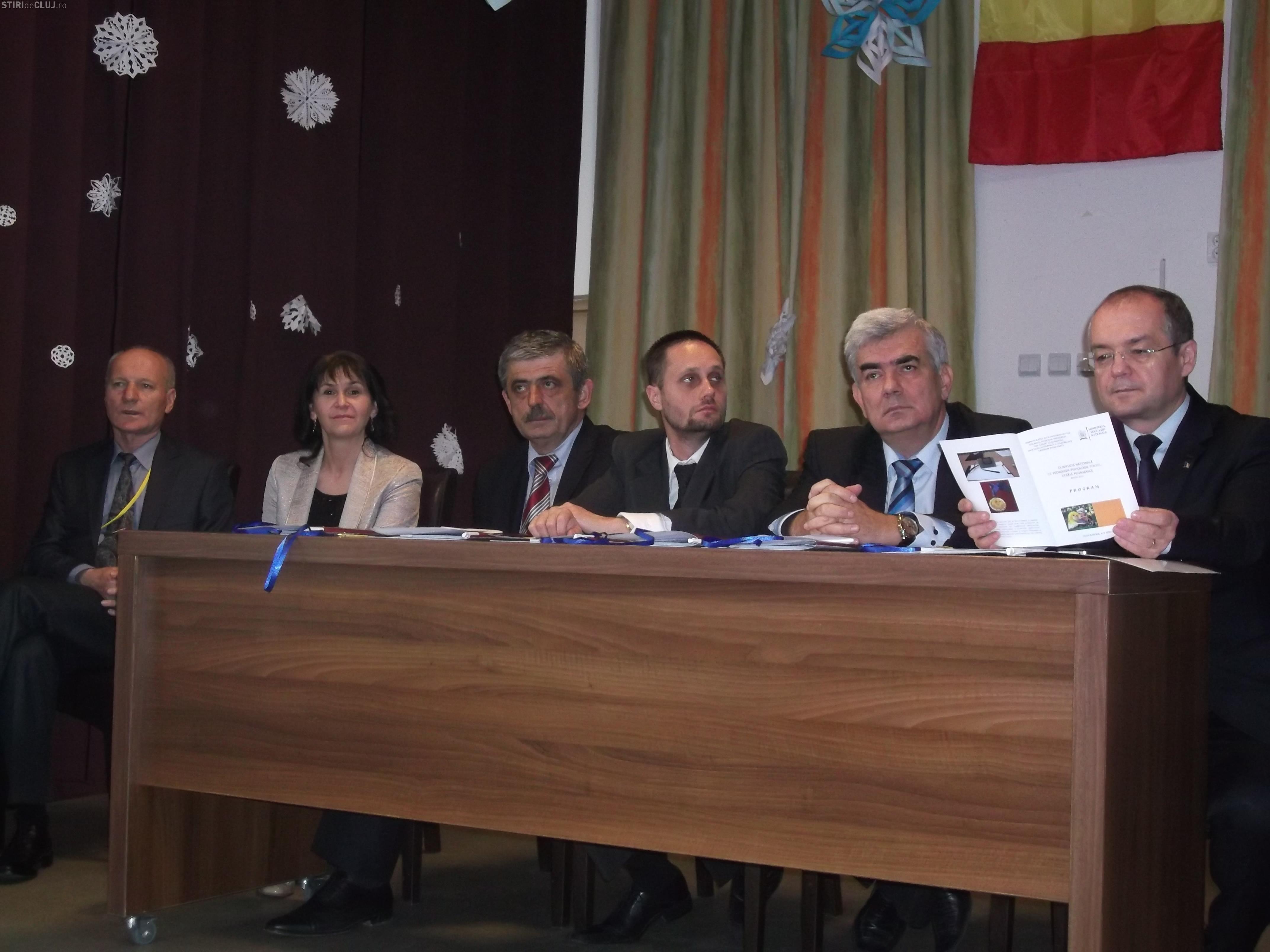Olimpiada Națională de Pedagogie a luat start la Cluj