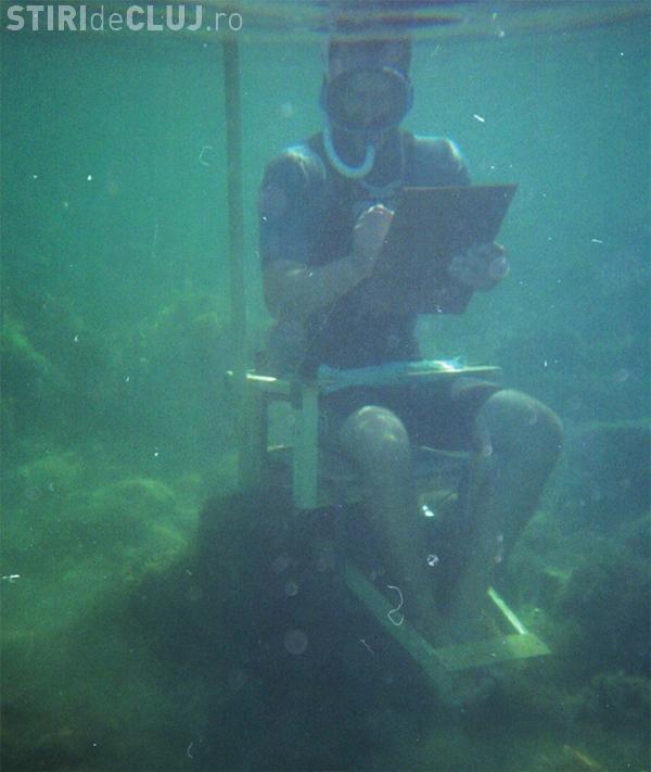Desen subacvatic la Festivalul 18+ Cluj! Va fi montat un acvariu imens pe Cetățuie