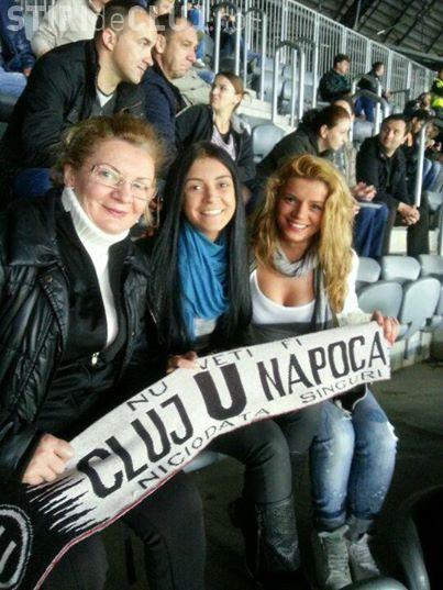 U Cluj are cele mai frumoase suporterițe din țară - FOTO