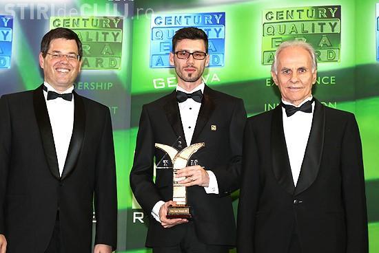 "Coral Impex din Romania, castigatorul premiului ""BID Century International Quality ERA"" de la Geneva in 2014(P)"