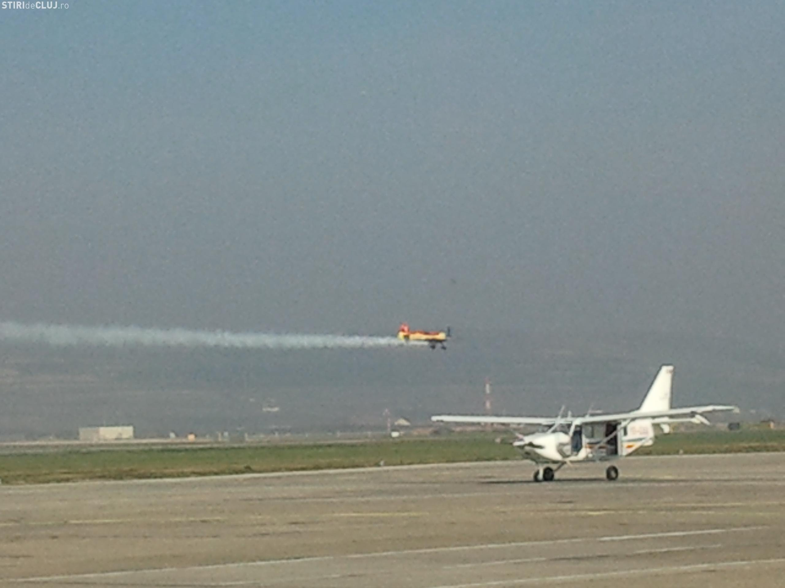 "Miting aviatic la Aeroportul Internaţional ""Avram Iancu"" Cluj"