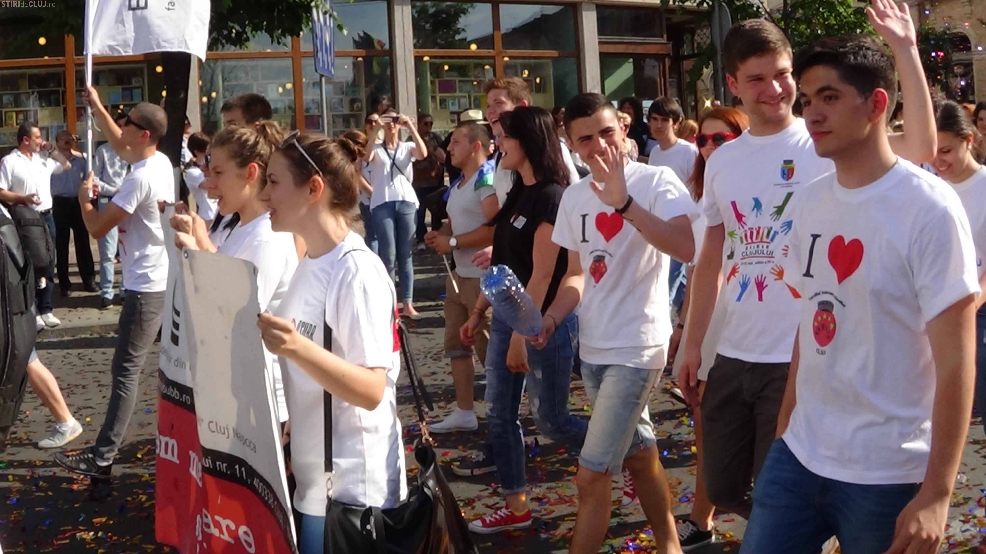 ZILELE CLUJULUI 2014 - Parada SUPERBĂ la ceremonia de deschidere - VIDEO