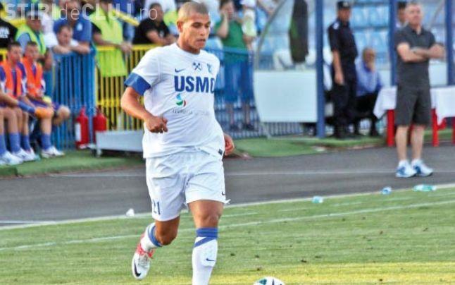 Karim Boutadjine rămâne la U Cluj încă două sezoane