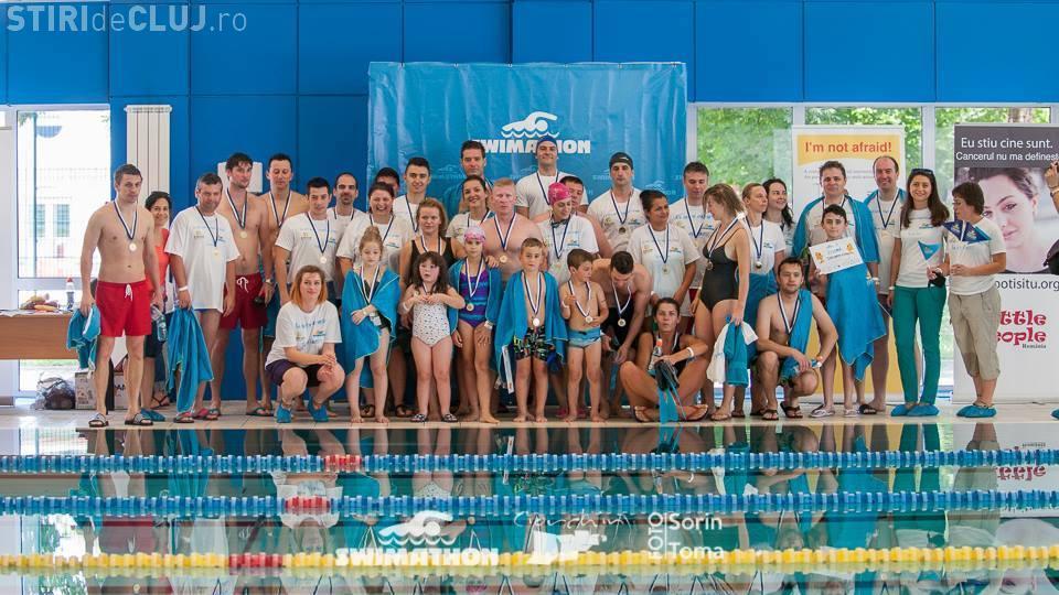 Swimathon Cluj 2014 - 117 km înotați și peste 105.000 lei adunați pentru cauze umanitare