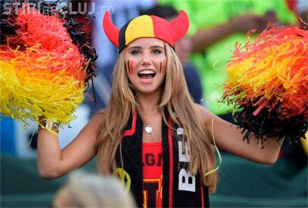 Ea e suporterița de la Campionatul Mondial, care a câștigat un contract de modelling - FOTO
