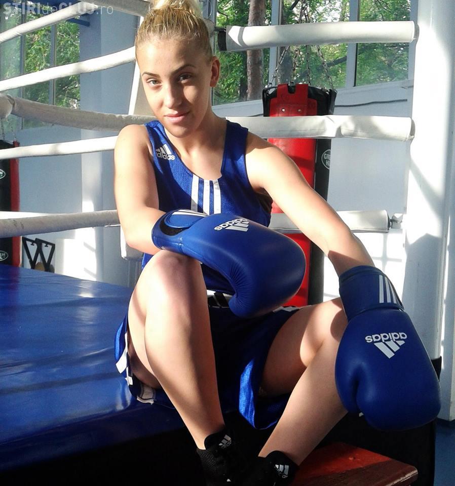 """Box la Cluj: Ioana Mera și-a spulberat adversara la Turneul Internaţional de Box """"Centura Transilvaniei 2014"""" - VEZI MECIUL"""