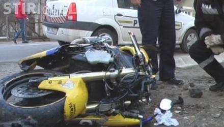 Un motociclist a murit pe un drum din Cluj, într-un mod HOROR!